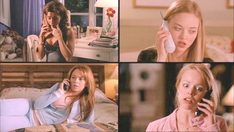 mean_girls_split_screen_telephone_calls